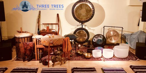 Equinox Sound healing journey w/Three trees