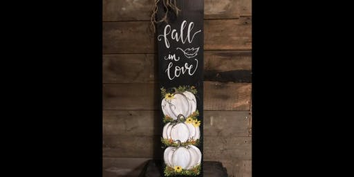 Fall in Love on Wood...Take 2