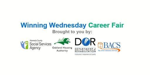 Winning Wednesday Career Fair