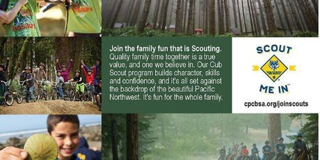 Cub Scout Sign Ups- tickets