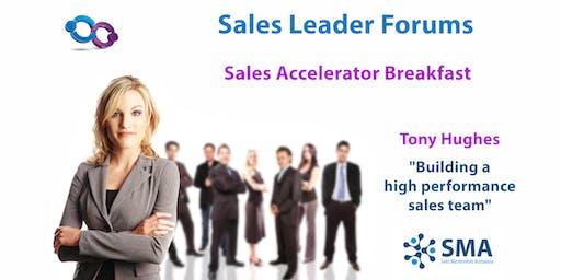 Building a High Performance Sales Team (Melb)