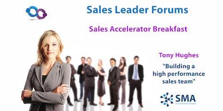 Building a High Performance Sales Team (Sydney) tickets
