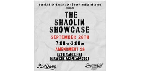 The Shaolin Showcase  tickets