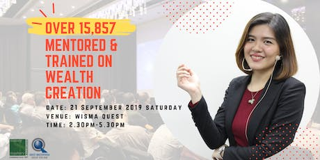 [Live Financial Seminar] Breakthrough Your Wealth, Success And Business Life In Just 3 Hours tickets