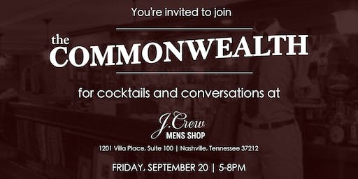 Cocktails and Conversations at the J.Crew Men's Shop