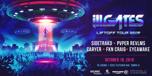 ill.GATES: Liftoff tour - Tampa 10/18