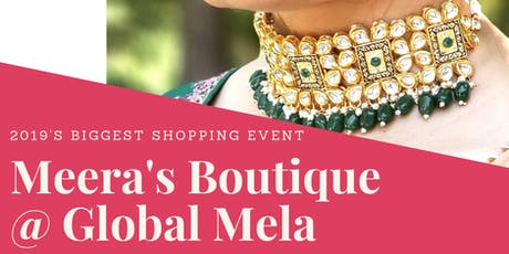 Meera's Boutique at Global Mela tickets