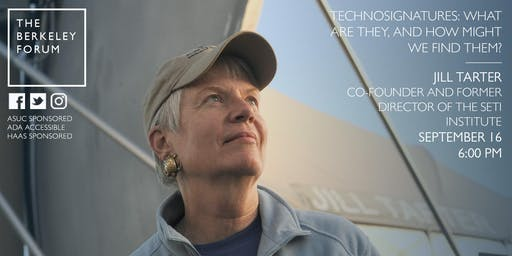 Astrobiologist and Astronomer Jill Tarter at the Berkeley Forum