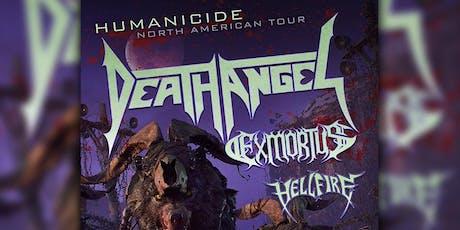 Death Angel w/ Exmortus, Hellfire tickets