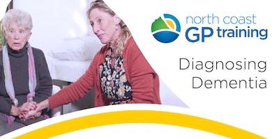 CPD: Diagnosing Dementia (Tweed Valley)