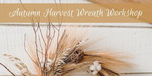 Autumn Harvest Wreath Workshop