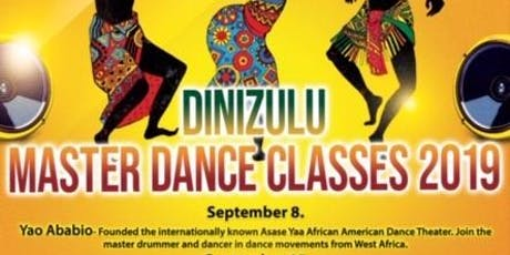 Dinizulu Master Dance Classes 2019 tickets