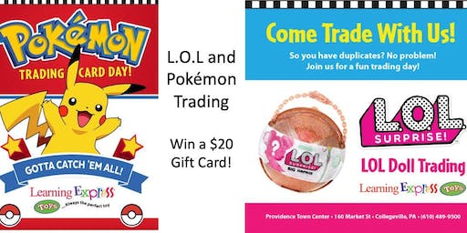 Pokemon and LOL Trading