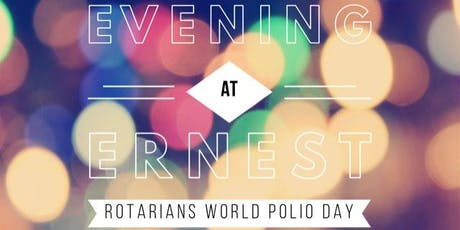 Evening at Ernest-World Polio Day tickets