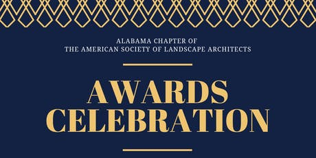 2019 Alabama ASLA Awards Celebration tickets