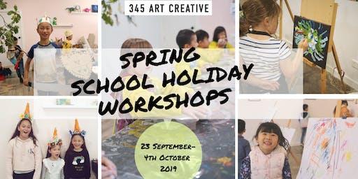 345 Art Creative School Holiday Workshops