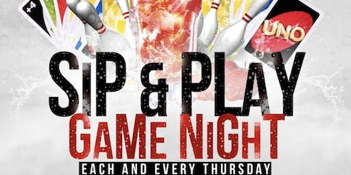 "BARBER BISTRO ""SIP & PLAY"" THURSDAYS"