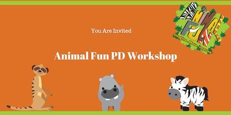 Animal Fun Professional Development Workshop tickets