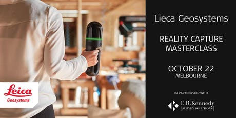 Leica Geosystems One Day Reality Capture Masterclass  (Melbourne ) tickets