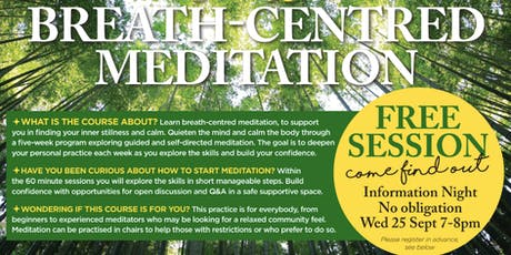 Meditation Course Free Information Night - Nourish Within tickets