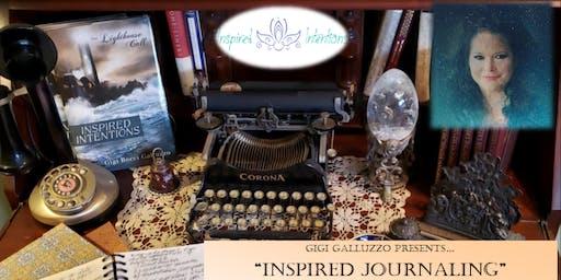 "Gigi Galluzzo Presents ""Inspired Journaling"""