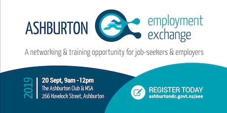 Ashburton Employment Exchange tickets