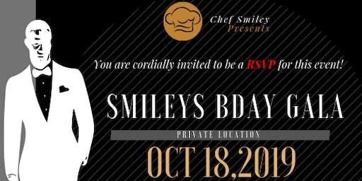 Chef Smiley Bday Dinner Gala