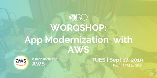 WORQSHOP: App Modernization with AWS