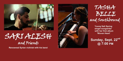 Sari Alesh & Friends and Tasha Belle in Concert