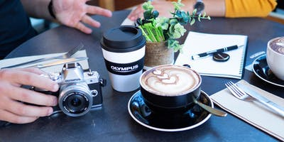 Coffee with Olympus, Hunt's Photo, Manchester