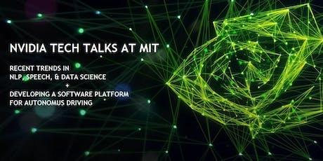 NVIDIA TECH TALK AT MIT tickets