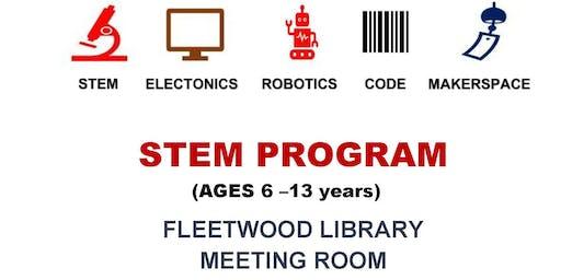 STEM/Robotics/Coding For Kids (Ages 6-13) Full Course (Oct 5-Dec 14,2019)