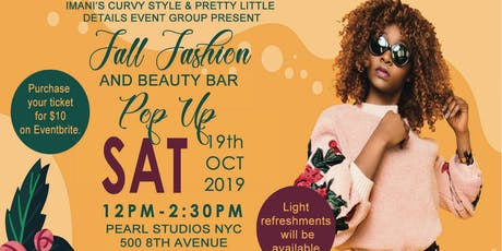 2019 Fall Fashion and Beauty Bar Pop-Up tickets