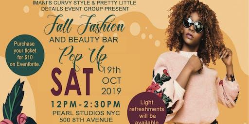 2019 Fall Fashion and Beauty Bar Pop-Up