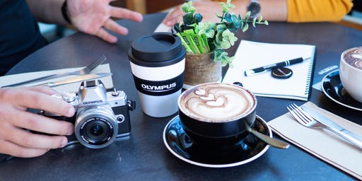 Coffee with Olympus, Hunt's Photo, Holyoke