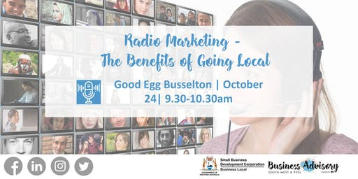 Radio marketing - The benefits of going local