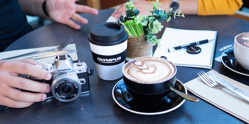 Coffee with Olympus, Hunt's Photo, Melrose