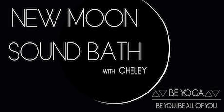 New Moon Sound Bath with Cheley tickets