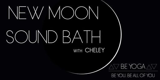 New Moon Sound Bath with Cheley