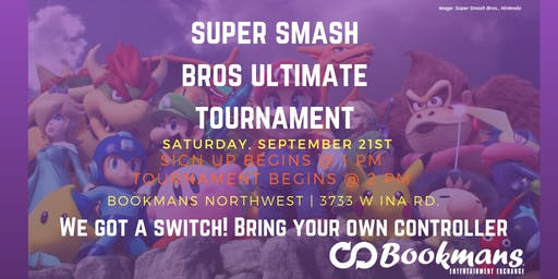 Super Smash Bros Saturday Ultimate Tournament