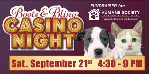 3rd Annual Boots & Bling Casino Night