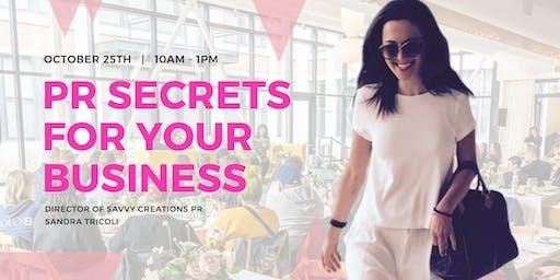 PR Secrets for your Business