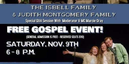 All About the Family Gospel Concert Series 2019