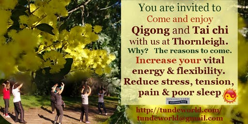 Qigong learn for better balance at Thornleigh
