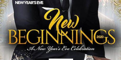 New Beginnings NYE 2020 Celebration tickets