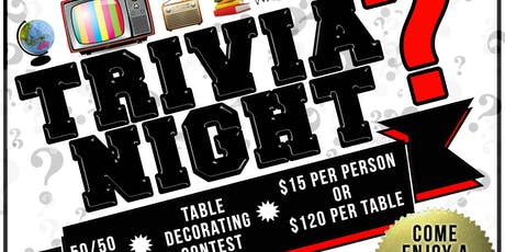 APRI Trivia Night tickets