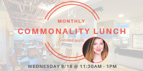 Women's Tech Co.  Commonality Lunch  - featuring Lila Smith tickets