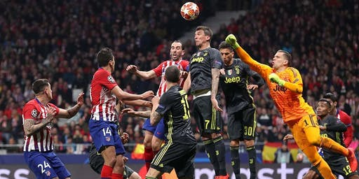 Atlético de Madrid VS Juventus- Watch Party