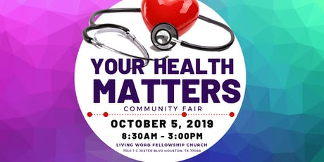 Community Health Fair - Your Health Matters tickets