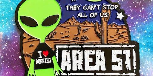 The AREA 51 Fun Run and Walk 5.1 Raleigh